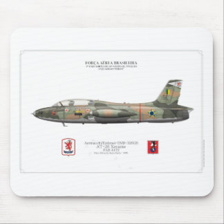 AT-26 Xavante (EMB-326G) - Brazilian Air Force Mouse Pad