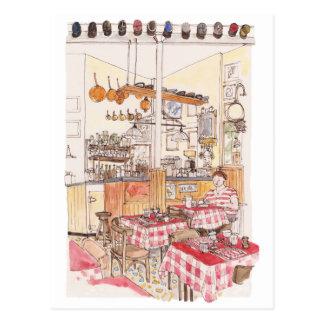 At Antoine, postcards