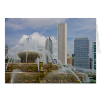 At Buckingham Fountain Card