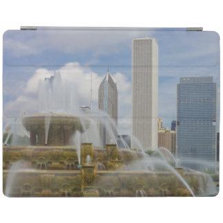 At Buckingham Fountain iPad Cover