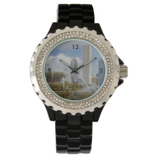 At Buckingham Fountain Wrist Watch