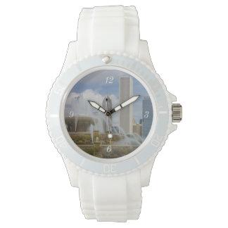 At Buckingham Fountain Wrist Watches