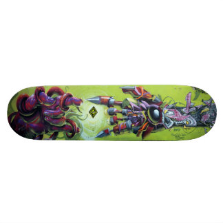 At Creation's Spark - Graffiti Streetart Sk8 Deck Custom Skateboard