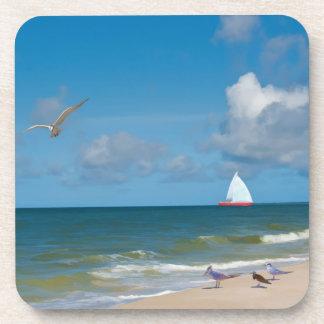 At Day at the Beach Coaster Set