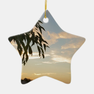 At days end ceramic ornament