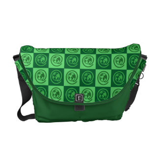 At Earth Sign Pattern Courier Bag