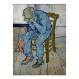 At Eternity's Gate by Vincent van Gogh Poster