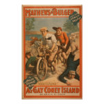 """""""At gay Coney Island"""" Musical Comedy Poster #1"""