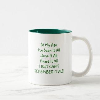 At My Age - Mug