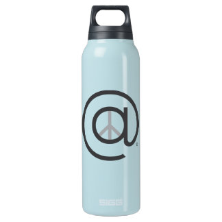 At Peace Blue Water Bottle