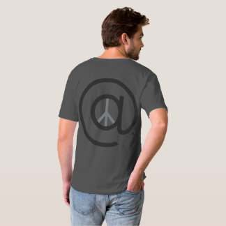 At Peace Men's Vneck TShirt
