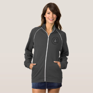 At Peace Women's zip up Jacket