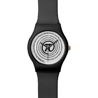 At Pi Sign, Spiral Watches