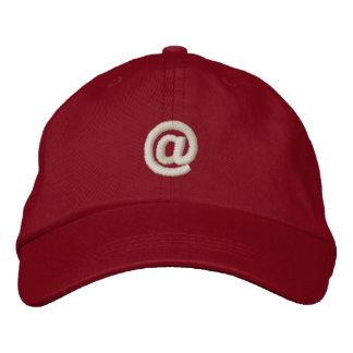 At Sign Embroidered Baseball Caps