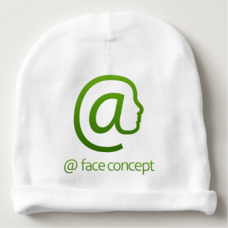 At Sign Face Concept Baby Beanie