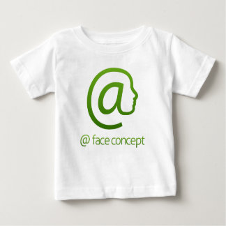 At Sign Face Concept Baby T-Shirt