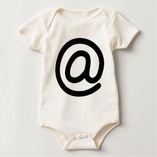 At Symbol Baby Bodysuit