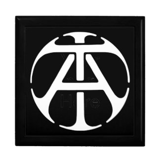 AT / TA Monogram Trinket Box