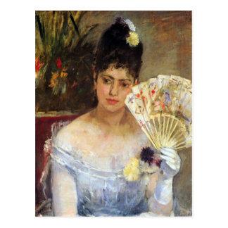 At the Ball by Berthe Morisot Postcard