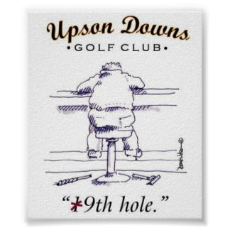 At the bar off the courses 16 x 12 poster, other s poster