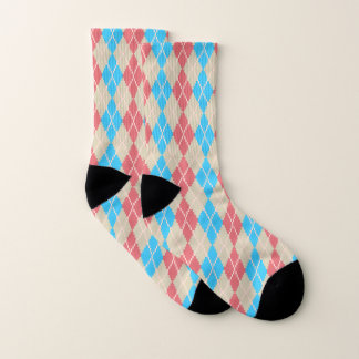 At the Beach Argyle Socks 1