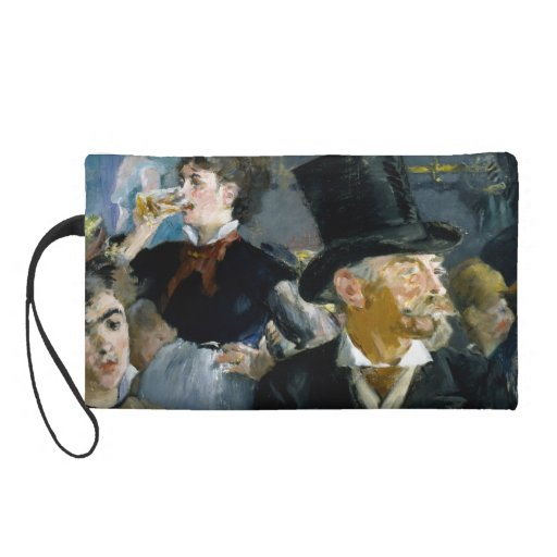At the Cafe by Edouard Manet Wristlet