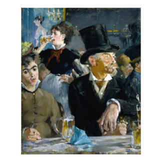 At the Cafe by Edouard Manet Photographic Print