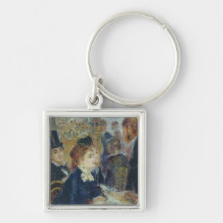 At the Cafe, c.1877 Key Chain