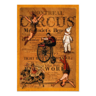 At the Circus Card
