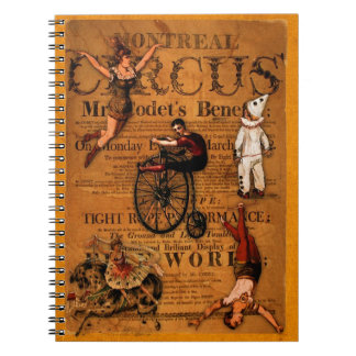 At the Circus Notebook