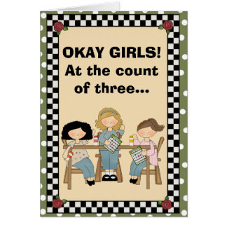 At the count of three... card