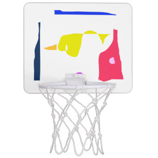 At the End of the Hallway Mini Basketball Hoop