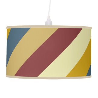 At the Fairgrounds Diagonal Stripes Pendant Lamp