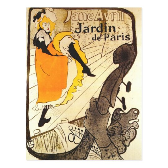 At the Jardin de Paris Postcard