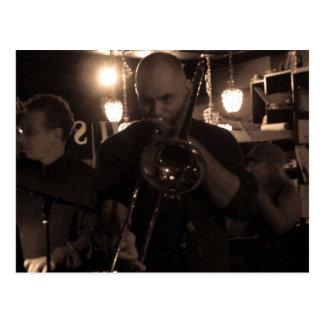 At the Jazz Club Postcard