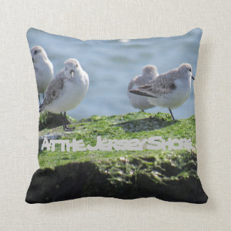 At the Jersey Shore Throw Pillow