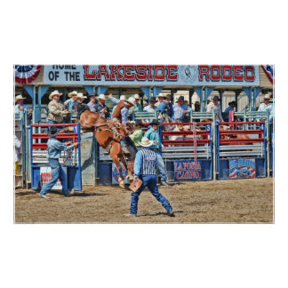 At The Lakeside Rodeo Poster