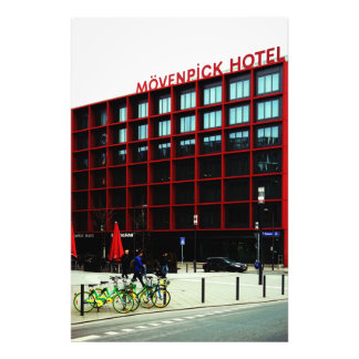 At the Mövenpick hotel Photo Print
