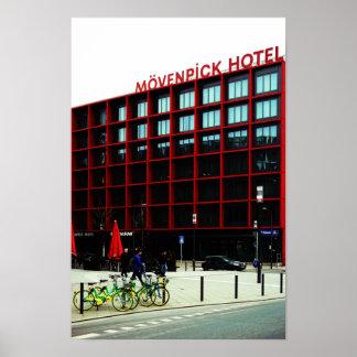 At the Mövenpick hotel Poster