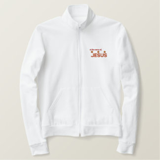 At the name of Jesus Christian jacket