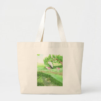 At the Pond Large Tote Bag