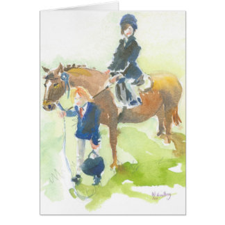 At the Pony Show Card
