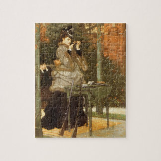 At the Rifle Range by James Tissot, Vintage Art Jigsaw Puzzle