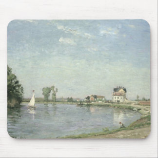 At the River's Edge, 1871 Mouse Pad