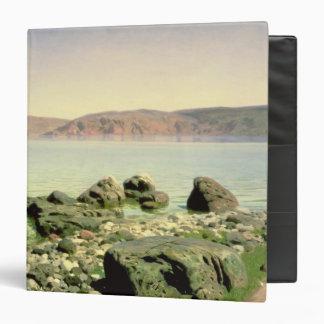 At the Sea of Galilee, 1888 Vinyl Binder