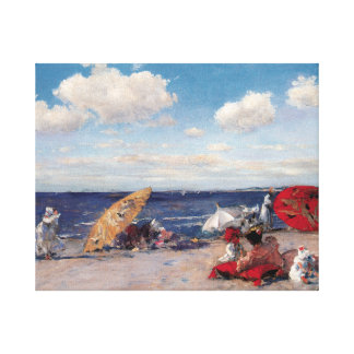 At The Seaside Canvas Print