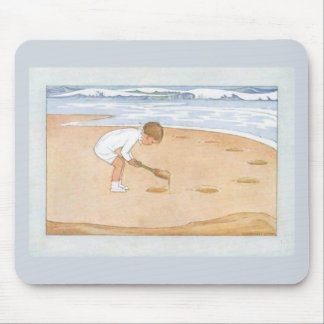 """At the Seaside"" Mouse Pad"