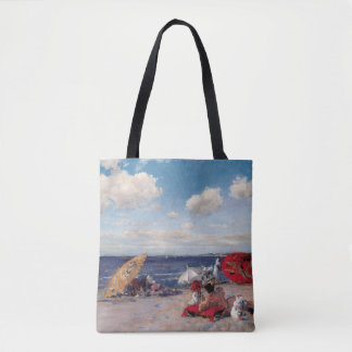 At The Seaside Tote Bag