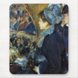 At the theatre by Pierre Renoir Mouse Pad