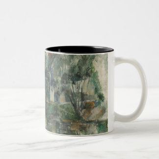 At the Water's Edge, c. 1890 (oil on can Coffee Mug